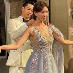 Lin Chi Ling, Prom Dresses, Formal Dresses, Akira, Backless, Fashion, La Perla Lingerie, Formal Gowns, Fashion Styles