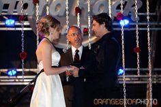 Rock n Roll wedding, red and black wedding, Hard Rock Cafe, Scheme Events wedding planner, Orange Soda Photography