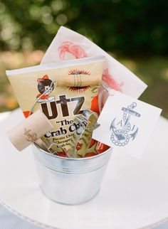 Put a crab mallet and some Utz chips in your welcome basket. Two necessities for proper Eastern Shore living. Plan your ceremony right on the water. Hotel Wedding, Wedding Vendors, Crab Boil Party, Seafood Party, Seafood Dinner, Wedding Reception Party Favors, Wedding Bells, Crab Feast, Washington