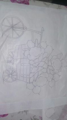 Outline Drawings, Cartoon Drawings, Fabric Painting, Painting & Drawing, Easter Colouring, Coloring, Hand Embroidery, Clip Art, Tapestry
