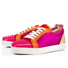 Louboutin Junior Spikes Woman Multi