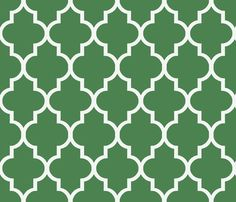 Quatrefoil in Summer Lawn fabric by willowlanetextiles on Spoonflower - custom fabric