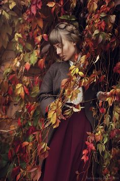 *** by MariaBabintseva on DeviantArt Autumn Photography, Creative Photography, Mabon, Poses For Photos, Fall Photos, Months In A Year, Art Pictures, Autumn Leaves, Photo Editing