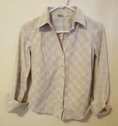 Women's St. John's Bay Western Top Size Small Long Sleeve Button Front #436 in Clothing, Shoes & Accessories, Women's Clothing, Tops & Blouses | eBay, Back to school shopping, Christmas Shopping