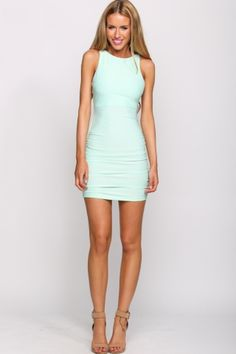 HelloMolly   Passionfruit Dress Mint - New In