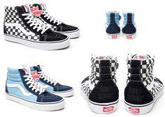 "Vans SK8 HI ""Bones Brigade""- I had the black and white ones when I was like 7!"
