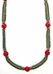 Box Chain Coral by Deb Moffett-Hall aka Patterns to Bead
