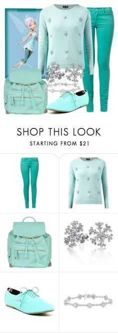"""""""Periwinkle"""" by violetvd ❤ liked on Polyvore featuring Wrangler, Disney, Atmos&Here, Bling Jewelry and Shellys"""