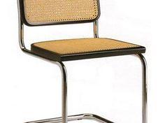 Chair Cesca by Marcel Breuer, 1928 Bauhaus Bauhaus Chair, Bauhaus Furniture, Design Bauhaus, Marcel Breuer Stuhl, Cesca Chair, Sofa Chair, Chair Cushions, Design Furniture, Chair Design