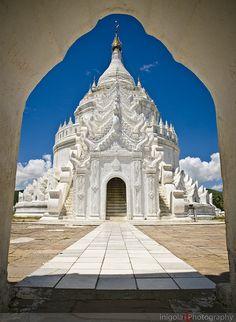 Hsinbyume Pagoda . Myanmar