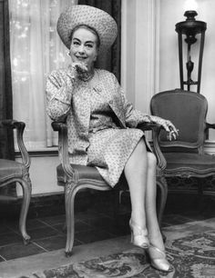 theclutteredclassicattic: Joan Crawford, 1960s