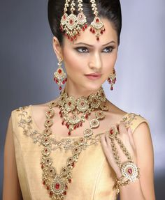 Indian Bridal Jewellery Set Collection 2014-2015