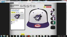 Toronto bluejays Purple snapback