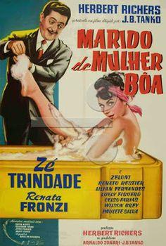 projetor antigo: Marido de Mulher Boa 1960 Bras MP4  1960 , Comédia , Dublado , J.B. Tanko , Otelo Zeloni , Renata Fronzi , Renato Restier , Zé Trindade