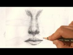 how to draw NOSE realistic