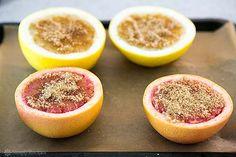 Broiled Grapefruit Recipe | SimplyRecipes.com