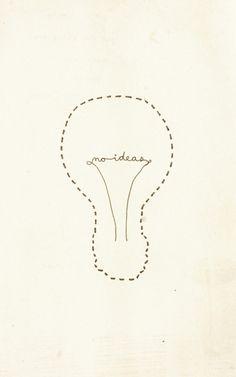 Sarajea - No ideas (Ironic) very clever!