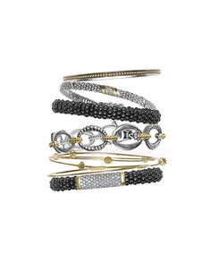 @lagosjewelry   Black Caviar   LAGOS.com   #loveLAGOS #StackWithBlack @lagosjewelry