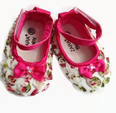 Ballet Hot Pink Baby Girls 6-12 Months Ankle Strap Shoes w/Crystals Rhinestones by YoungSparkleandShine on Etsy https://www.etsy.com/listing/217962079/ballet-hot-pink-baby-girls-6-12-months