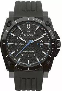 reloj bulova 98b142 linea precisionist + envio gratis