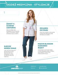 Jak wybrać modną i profesjonalną odzież medyczną? | Opiekun medyczny
