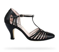 Limited Edition Sarah Chofakian Black Distressed goatskin by Repetto - Collection spring-summer 2014