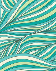 "pomgraphicdesign:  ""Zen Jungle"" Print by Pom Graphic Design"