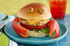 Hamburguesas de cangrejo
