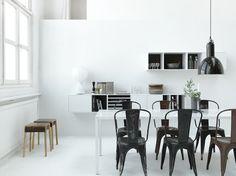 White design inspiration by Lotta Agaton Dining Room Design, Dining Area, Kitchen Design, Dining Table, Room Inspiration, Interior Inspiration, Design Inspiration, Scandinavian Interior Design, Scandinavian Style