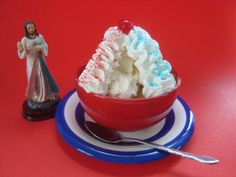 … with a Divine Mercy Sundae! Divine Mercy Sunday is always the Sunday after Easter, and was instituted by Pope John Paul II in the Jubilee year (2000) at the mass for the canonization of St.…