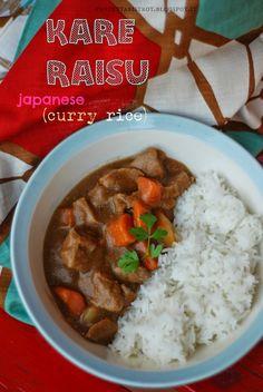 Ringo Kare raisu (japanese Apple curry rice)