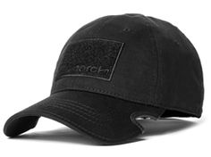 b98c1e292729a Notch Classic Adjustable Black Operator. Operator Hat ...