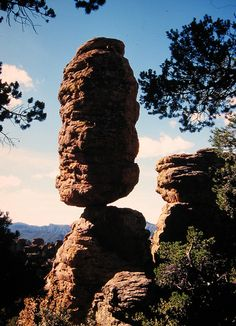Chiricahua National Monument, Arizona, USA. Stay at Hummingbird Ranch Vacation House in Pearce AZ.  $695 Week $1995 Month $125 Nightly w/ 3 Nt min.  520-265-3079
