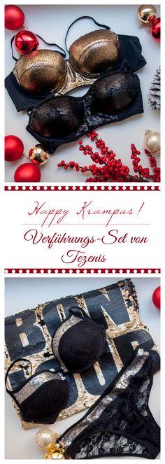 Gewinnt ein sexy Krampus Set für heiße Weihnachten ... nur auf www.theladies.at!