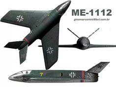 1945 Messerschmitt Me P.1112 concept