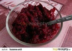 Vitamínový salát z pečené červené řepy recept - TopRecepty.cz Beef, Food, Meat, Essen, Meals, Yemek, Eten, Steak