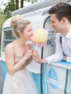 Move Over Candy Bars, These Cotton Candy Ideas Are The Next Big Thing Cotton Candy Wedding, Wedding Candy, Wedding Bride, Mermaid Dresses, Bridal Dresses, Flower Girl Dresses, Wedding Dress Patterns, Wedding Ceremony Decorations, Bridesmaid Flowers
