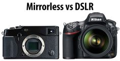 Mirrorless vs DSLR - i'd like to read and process this more when i have some more brain power.