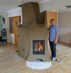 adelaparvu.com despre Lehm und Feuer  (10) Rocket Mass Heater, Brick Masonry, Innovation Centre, Cooking Stove, Earth Homes, Natural Building, Sustainable Living, New Homes, House Design
