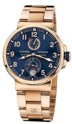 Ulysse Nardin Marine Chronometer Manufacture 1186-126-8M/63