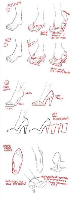 Zori heels feet walk