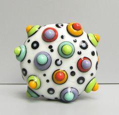 Lampwork bead by Tera Belinsky-Yoder