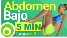 Rutina de 5 minutos para aplanar y tonificar el abdomen bajo. Entrenamiento para quemar grasa abdominal en casa y sin pesas. Ejercicios para mujeres y hombre...