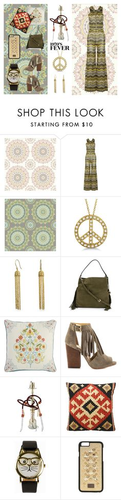 """""""Hookah Lounge"""" by dana-debanks ❤ liked on Polyvore featuring Brewster Home Fashions, M Missoni, Allurez, Bling Jewelry, Diane Von Furstenberg, Pier 1 Imports, Chinese Laundry, JFR, Dolce&Gabbana and women's clothing"""
