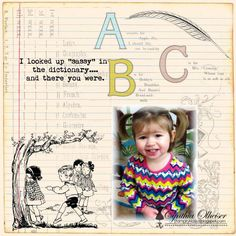 Crafty Secrets Digi Layout using paper from CD # 3 by StampinAK - Cards and Paper Crafts at Splitcoaststampers
