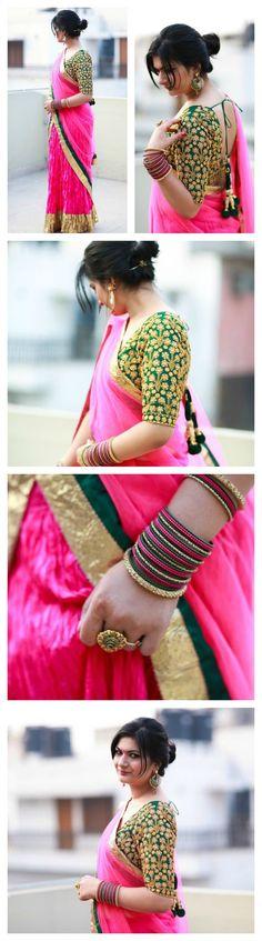 Pink green lehenga| indian wedding | indian festive | pink lehenga | diwali outfit | indian bridal | amrapali jewels
