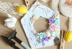 Делаем милый пасхальный декор из полимерной глины - Ярмарка Мастеров - ручная работа, handmade