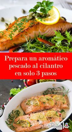 Fish Recipes, Great Recipes, Healthy Recipes, Cilantro, Deli, Cooking Time, Seafood, Nutrition, Chicken