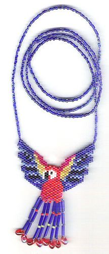 Parrot Beaded Necklace | Flickr: Intercambio de fotos