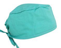 d49007e4388 Hospital Green Surgical Scrub Cap- USA Made Scrub Caps